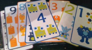 Monster Number Cards by Sprouting Tadpoles