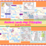 Map Printables Ancient Lands by Sprouting Tadpoles