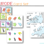 Europe Flash Cards Geography
